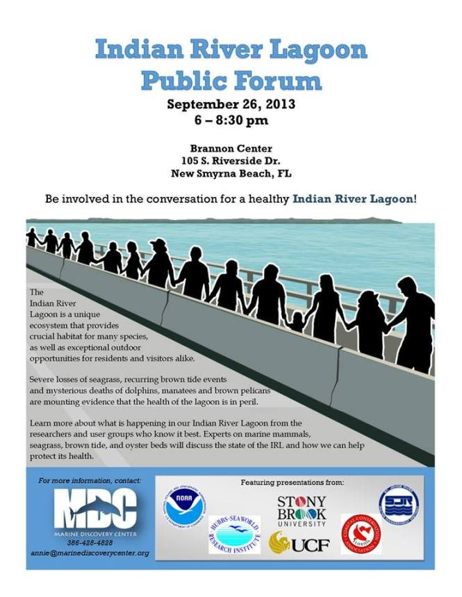 Indian River Lagoon Public Forum